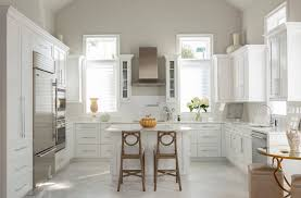 pics of kitchens with white cabinets and gray walls what color should i paint my kitchen with white cabinets 7