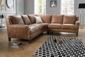 Sofa Leather Fabric Great Leather Corner Sofa With Corner Sofas In Leather Fabric