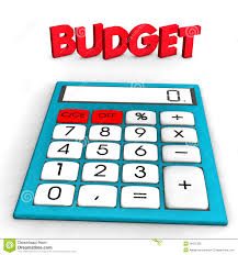 Budget Calculator Spreadsheet by Budget Calculator Royalty Free Stock Photo Image 28121325