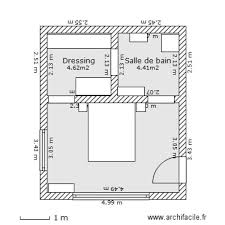 plan chambre plan chambre parentale avec salle de bain et dressing 10 chambre