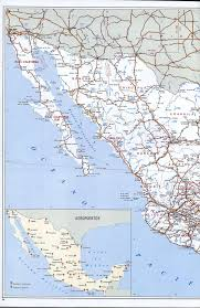 Jalisco Mexico Map Highway Map Of Mexicofree Maps Of North America