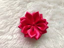 satin ribbon flowers aliexpress buy diy hair accessories 1 5inch ribbon made