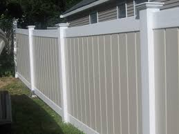 white vinyl fence boards u2013 outdoor decorations