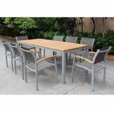 powder coated aluminum outdoor dining table china high quality outdoor patio furniture set aluminum powder