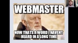Webinar Meme - webinar perfil profesional del front end developer javier