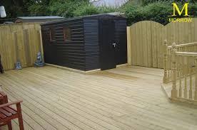 garden decking and pergolas timber decking northern ireland