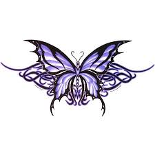 23 best purple butterfly tattoos images on butterfly