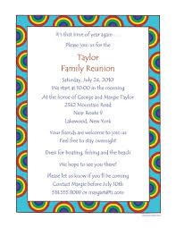 reunion invitation letter cobypic com