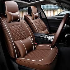 housse de siege en cuir pour voiture housses de siège en cuir de voiture universel auto couvre pour