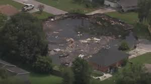 width of massive pasco sinkhole grows two more homes condemned