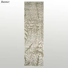 Palm Tree Runner Rug Tropical Palm Leaf Imprint Area Rugs