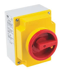 s47k5n a 4 pole non fused isolator switch 20 a 7 5 kw ip65 abb
