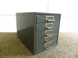 Vintage Metal File Cabinet Drawer Metal File Cabinet Vintage Five Drawer File Cabinet Storage