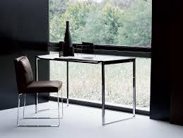 Modern Italian Office Furniture by Nella Vetrina Dona Vague Modern Italian Designer Black Nickel Console