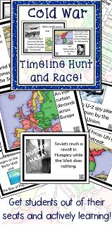 cold war timeline activity cold war timeline and teacher