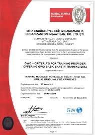 bureau v itas certification gwo global wind organisation provider