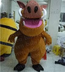 Halloween Costumes Dinosaur Aliexpress Buy Lion King Pumba Monster Mascot Costume Custum