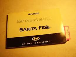 2001 hyundai santa fe owners manual 2001 hyundai santa fe owners manual 8890 66 cooters auto manuals