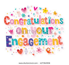 engagement greeting card congratulations on your engagement greeting card stock