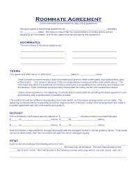 12 best images of 5 roommate rental agreement template roommate