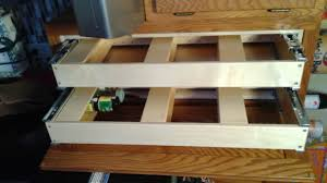 verticle roll out shelves help your shelves