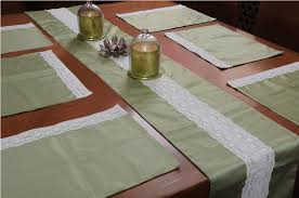table runner placemat set homestrap towels bathroom linen home kitchen homestrap