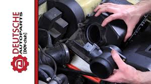 lexus es300 idle relearn how to replace a mass air flow sensor maf on a 1 8t vw engine