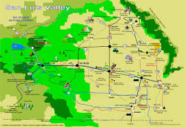 Colorado Tourism Map by Maps Of South Fork And The Surrounding Area Town Of South Fork