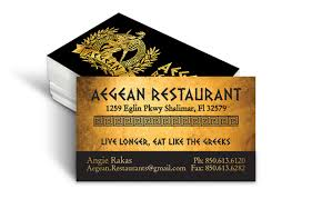 new pics of restaurant business cards business cards design ideas