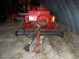 massey ferguson hesston 1839 small square baler item db350