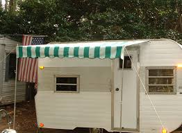 Trailer Awning Vintage Trailer Awning September 2012