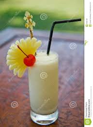 pina colada cocktail pina colada cocktail drink royalty free stock image image 6665196