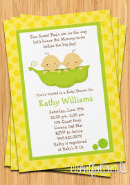 two peas in a pod baby shower baby shower invitation two peas in a pod
