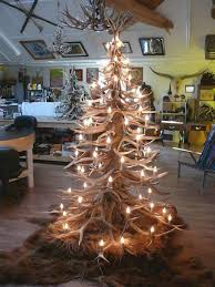 christmas tree with lights sale shed antler trees are a must for any hunter this christmas whiskey