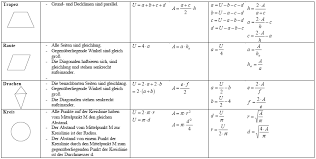 fläche kreis formel fläche berechnen hoehe winkel seite flaechen berechnung dreiecks