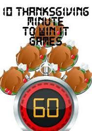 thanksgiving minute to win it u create family