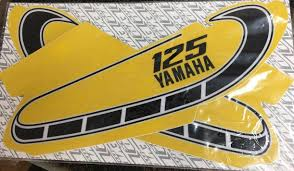dc plastics decals and graphics yamaha 1976 1976