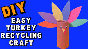 easy thanksgiving turkey recycling diy craft klatch thanksgiving