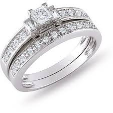 Wedding Rings Sets At Walmart by 14 Best Wedding Ring Sets Images On Pinterest Bridal Sets