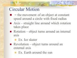 circular motion ppt