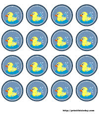 baby shower duck theme duck baby showers water bottle labels