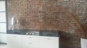 Wohnzimmer Ziegeloptik Ziegelwand Www Gewena De 2014 11 01 Alte Ziegelwand Neu Gebaut
