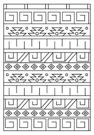 pattern coloring free printable coloring pages