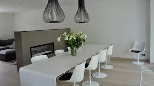 chaises de salle à manger design salle à manger au design épuré aai intra muros sprl