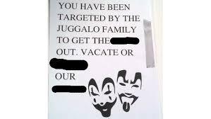 juggalos give gentrifiers ultimatum