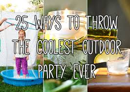 Backyard Birthday Ideas 25 Backyard Party Ideas For The Coolest Summer Bash Ever
