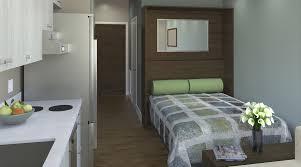 micro apartment interior design captivating micro apartment interior design ideas with foamy bed