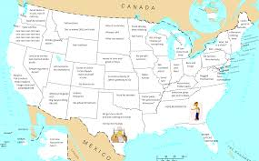Northeast America Map by How Europe Sees America U2013 The American Catholic