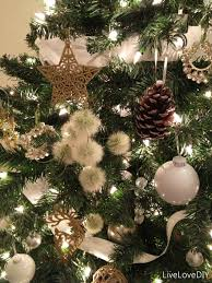 Silver Christmas Tree Baubles - 100 pine cone christmas tree decorations easy to make