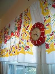 Kitchen Valances by Valance Curtain 18 X 40 Cotton Upick Fabric Retro Kitchen Retro